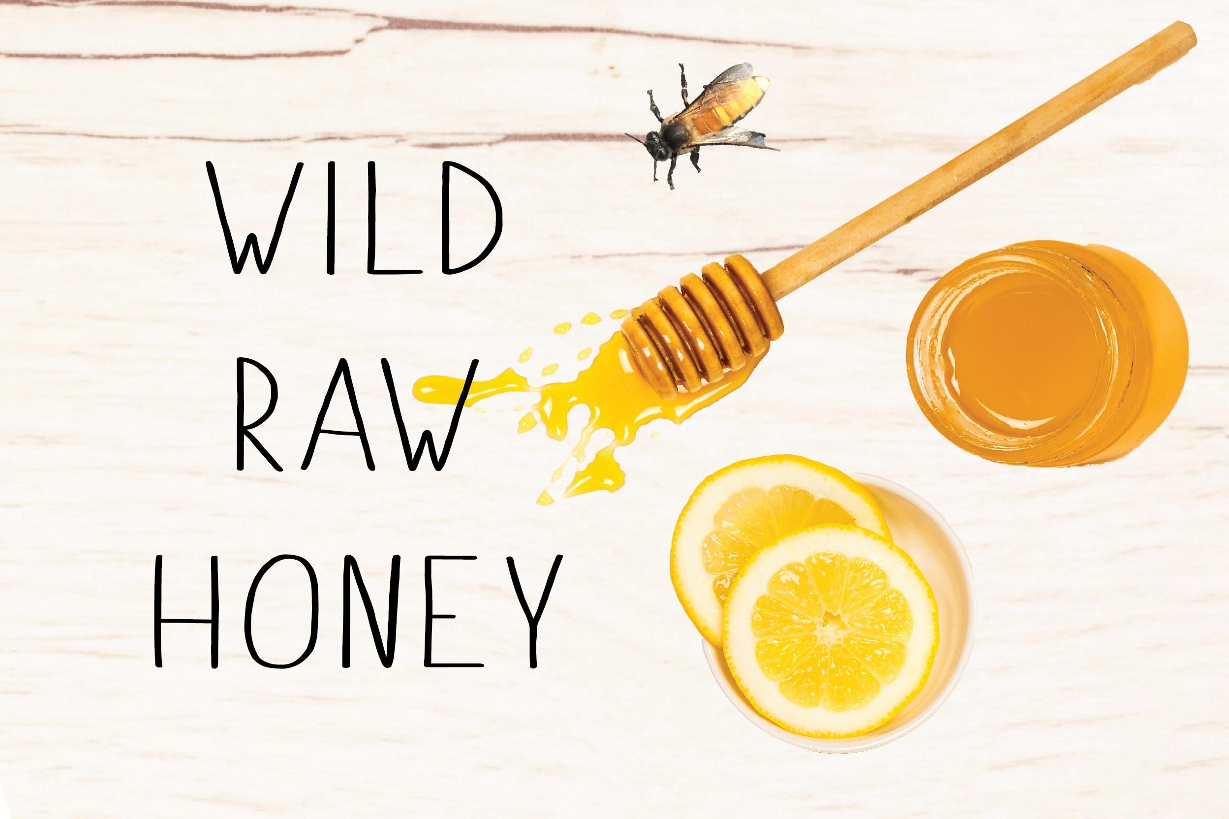 WILD RAW HONEY